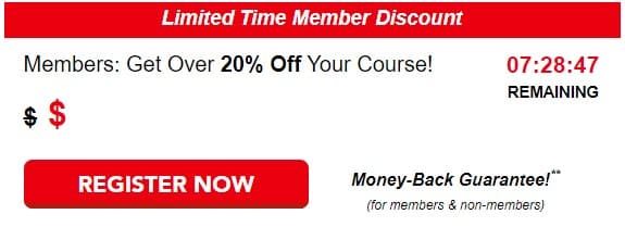 senior driving course discount
